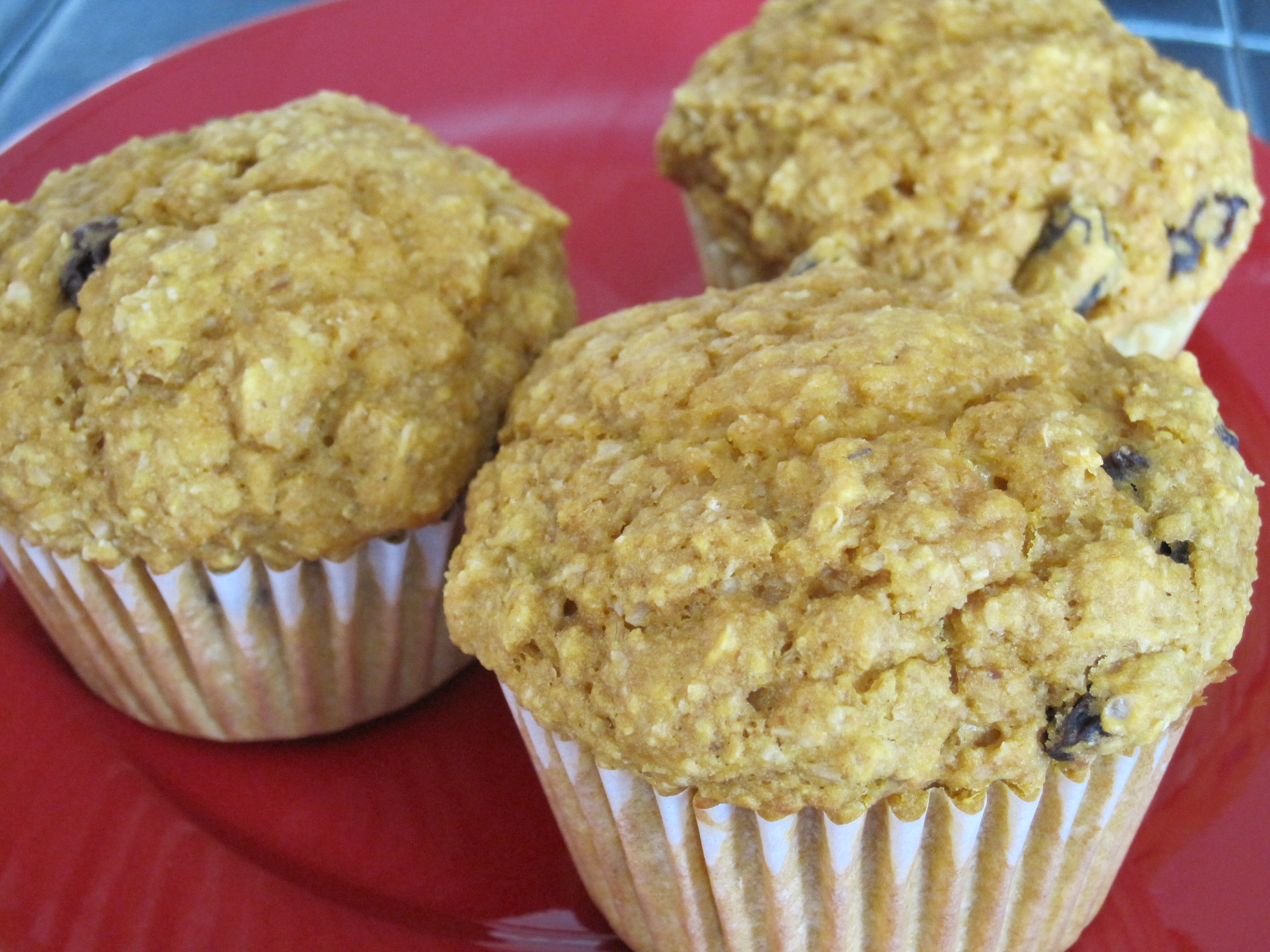 Whole Food Plant Based Diet Wheat Bran Muffins